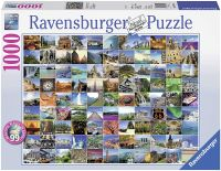 99 Beautiful Places on Earth 1000 pieces